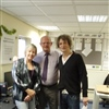 Loretta Brown ( Somerset Lead Delivery Adviser ) Keith Wilson ( East Somerset Ascent Adviser ) with Will