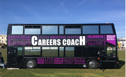 National Careers Service Careers Coach takes to the Road