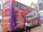 Prospects supports the National Careers jobs bus as it tours the UK