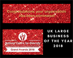 Prospects gains nomination for top diversity award